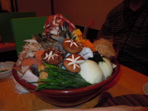 新花山さんの味噌ちゃんこ